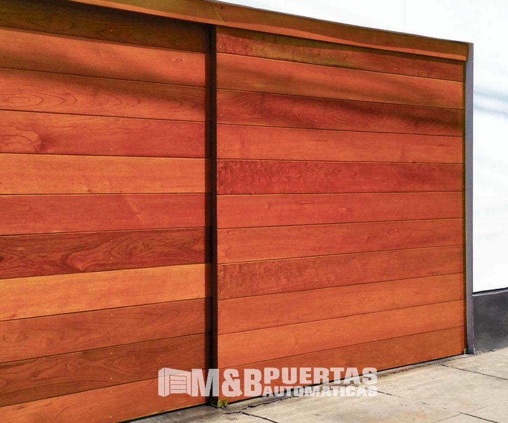Puertas de garaje Corredizas - M&B Puertas Automáticas