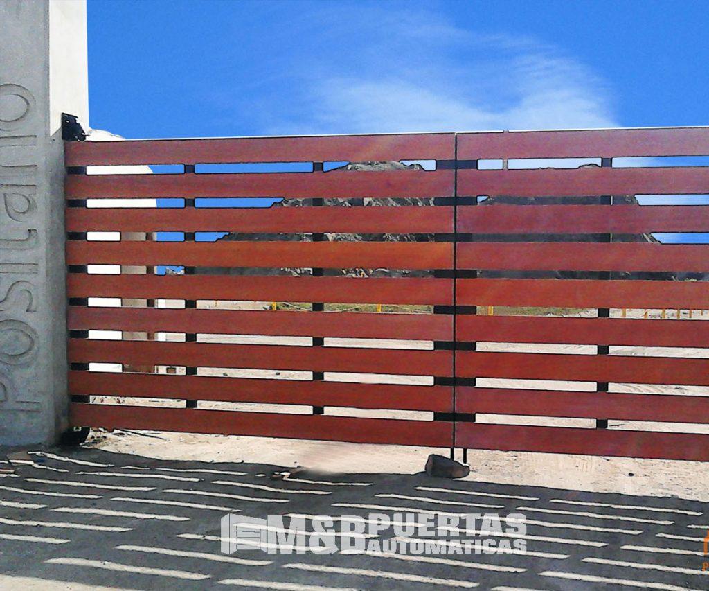 Puertas de garaje batientes m b puertas autom ticas - Puertas de garaje batientes ...