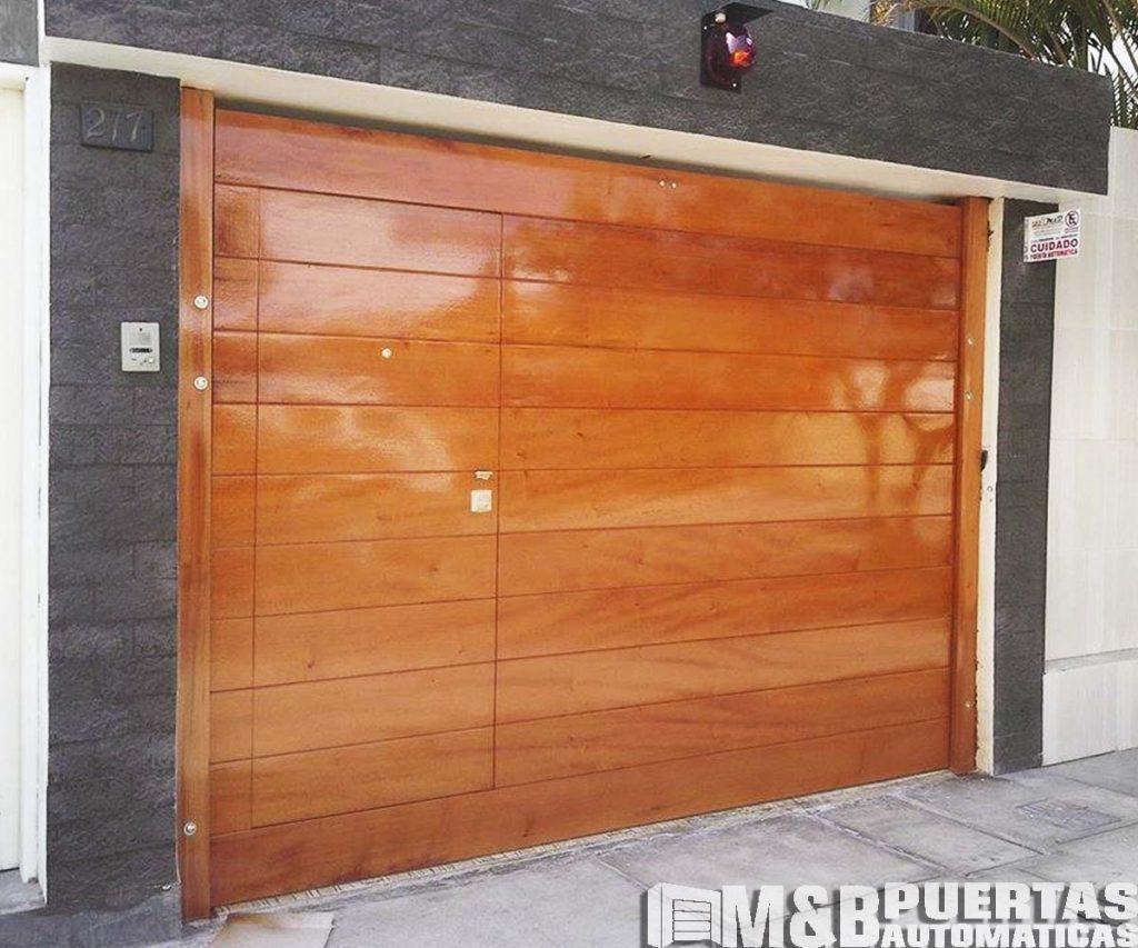 Madera cedro selecto para puerta de garaje autom ticas for Puertas pisos precios