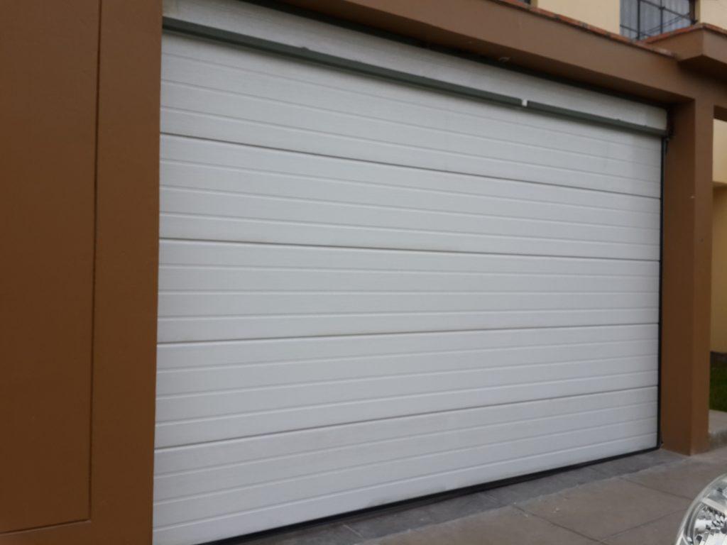 puerta panel blanco texturado