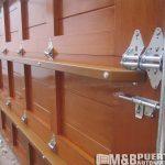 puerta madera solida