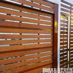puerta principal y de garaje listones