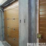 puerta secciona interior
