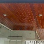 techo machihembrado madera