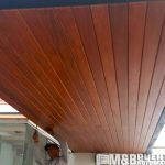 techo madera tornillo machihembrado
