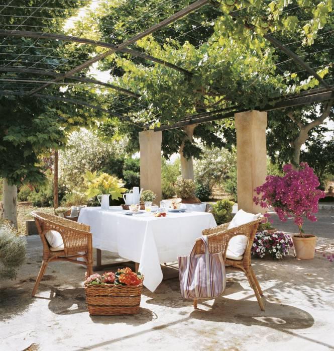 Diseño de Pergolas en jardín